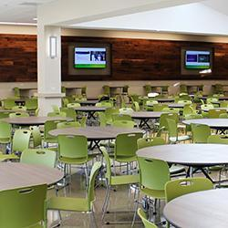 High School Celebrates New Cafeteria Expansion