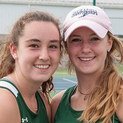 LHS Sisters Capture Tennis State Championship
