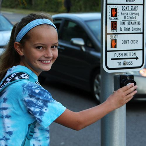 New Crosswalks Keep Students, Families Safe