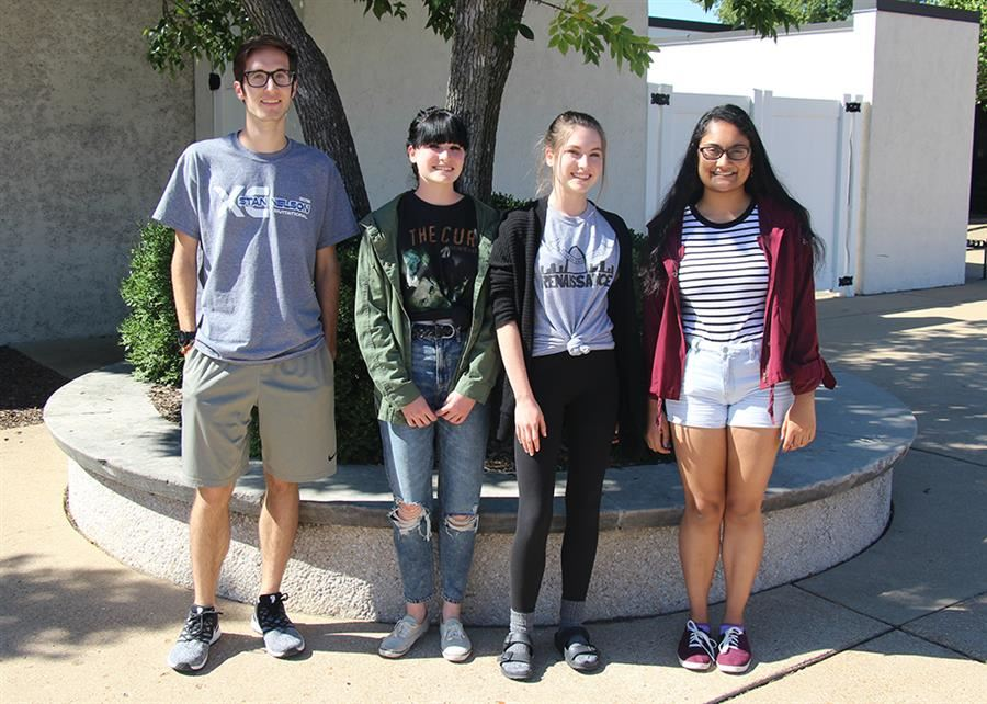 Four Flyers Named National Commended Students