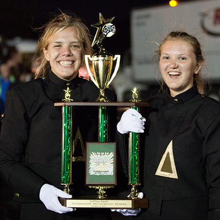 Band Places First at Fort Zumwalt Competition