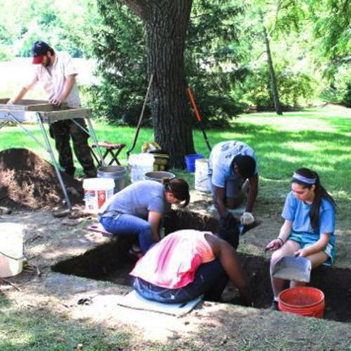 LHS Students Report Archaeological Dig Findings