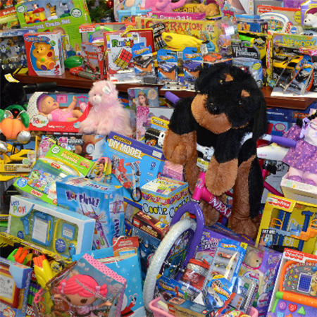 LHS Students Collect Toys for Children in Need