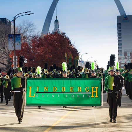 Marching Band Places First at Thanksgiving Parade