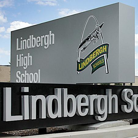 LHS monument sign