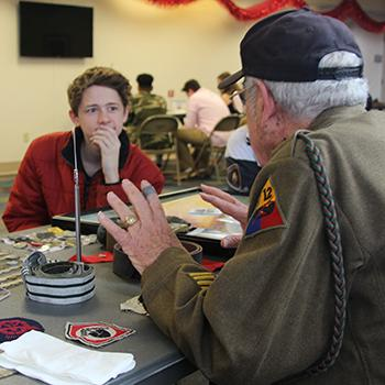 Veterans Share Stories with LHS Students