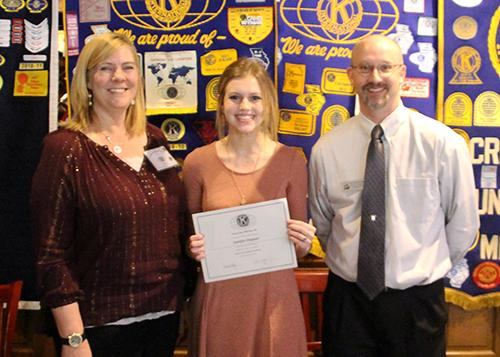 Kiwanis Names Students of the Month