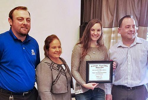 Rotary Names Students of the Month