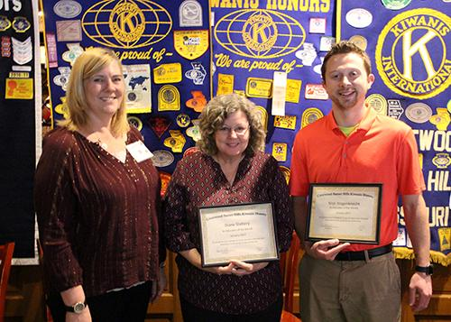 Kiwanis Club Honors Distinguished Educators