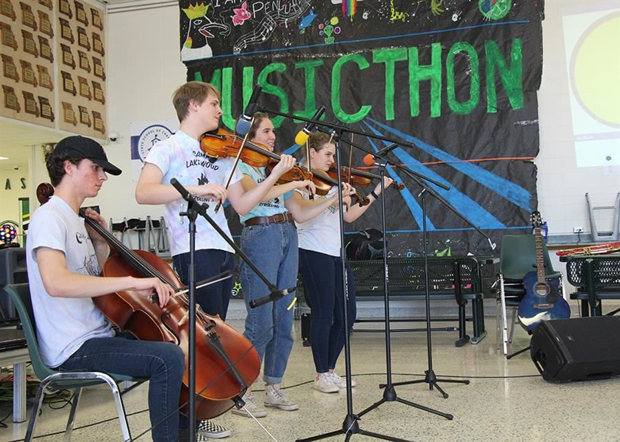 Musicthon Raises $2,200 for Cancer Research