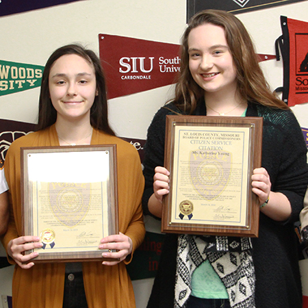 Police Honor LHS Students for Heroic Actions
