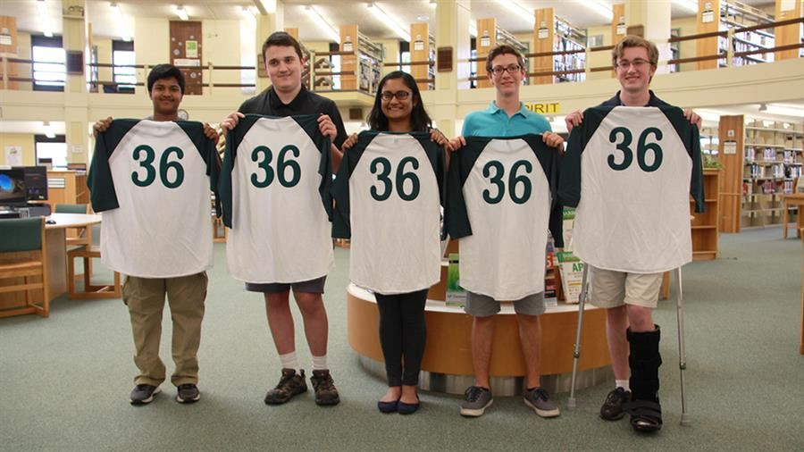 Five Flyers Earn Perfect Score on ACT Exam