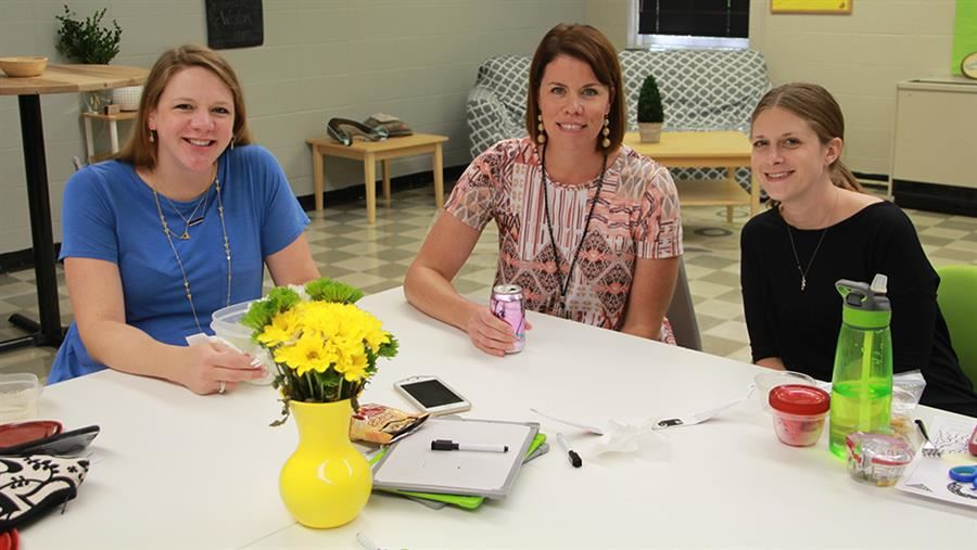 Donors Give Sappington Teachers an Inviting New Space