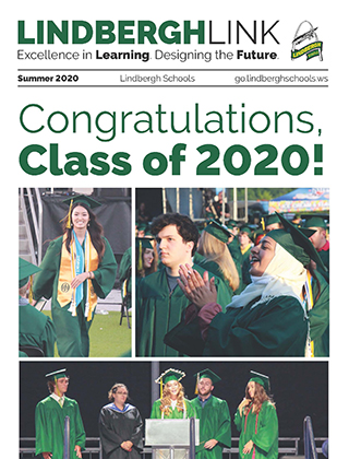 Cover of the summer 2020 Lindbergh Link newsletter