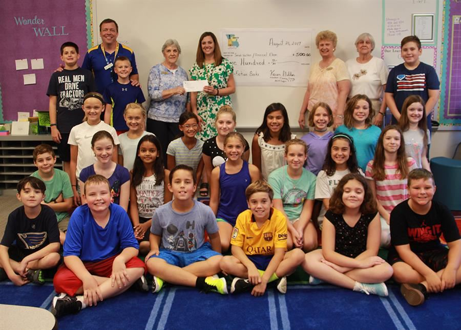 Retired Teachers Award $500 Grant to Dressel Educator