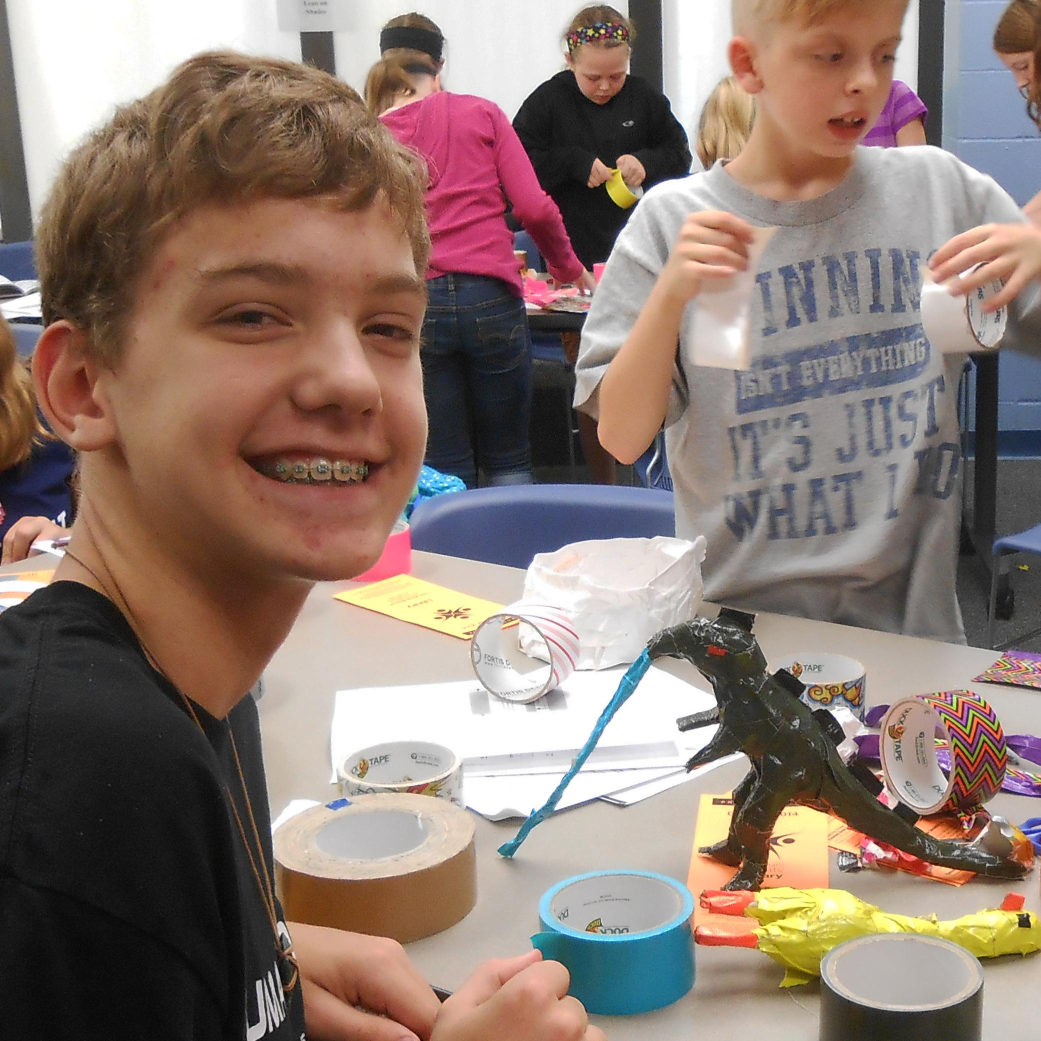 Duct Tape Inspires Creativity at Truman