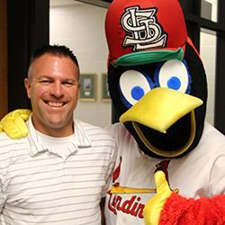 Wyss Named Cardinals Star of the Classroom