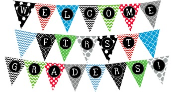 Image result for welcome to first grade sign